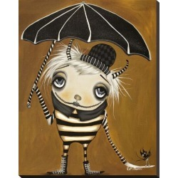 Stretched Canvas Print: Gleason's Umbrella Nurdle, 30x24in. found on Bargain Bro from Allposters.com for USD $109.43