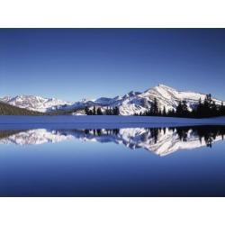 Poster: Frank's California, Sierra Nevada, Yosemite National Park, Mam