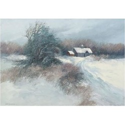 Art Print: Swayhoover's Dovetail Farm, 11x14in.