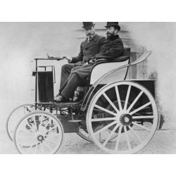 Poster: The Jeantaud Electric Car, 1896, 24x18in. found on Bargain Bro from Allposters.com for USD $26.97