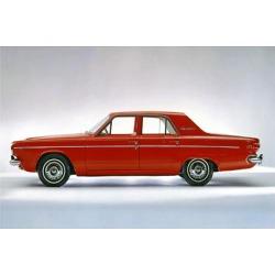 Art Print: 1964 Dodge Dart 270 4 Door, 44x56in.