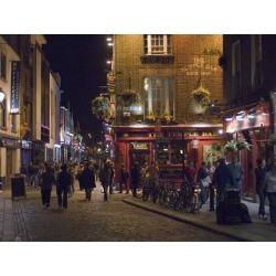 Art on Acrylic: The Temple Bar Pub, Temple Bar, Dublin, County Dublin,