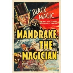Art Print: MANDRAKE THE MAGICIAN, Warren Hull, Movie Poster, 1939: 24x16in found on Bargain Bro Philippines from Art.com for $20.00