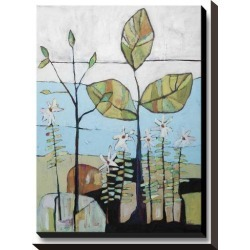 Stretched Canvas Print: Like Flowers & Sweet Scented Herbs by Staci Britt: 16x12in found on Bargain Bro Philippines from Art.com for $160.00