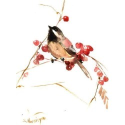 Giclee Print: Chickadee 13 by Suren Nersisyan: 24x18in found on Bargain Bro Philippines from Art.com for $40.00