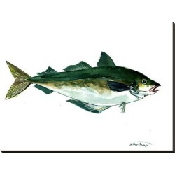 Stretched Canvas Print: Seafood Fish by Suren Nersisyan: 30x40in found on Bargain Bro from Art.com for USD $106.40