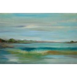 Art Print: Emerald Lagoon by Silvia Vassileva: 24x16in