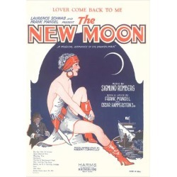 Art Print: Sheet Music for the New Moon: 24x18in