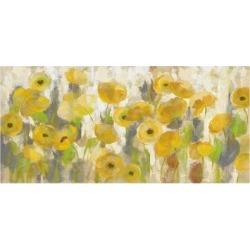Art Print: Floating Yellow Flowers I by Silvia Vassileva: 24x16in
