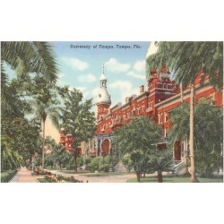 Art Print: University of Tampa, Florida Art Print: 24x18in found on Bargain Bro Philippines from Art.com for $20.00