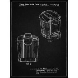 Giclee Print: PP905-Vintage Black Keurig Coffee Brewer Patent Poster by Cole Borders: 24x18in