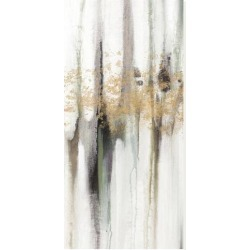 Stretched Canvas Print: Falling Gold Leaf I by Studio W: 30x15in found on Bargain Bro from Art.com for USD $117.80