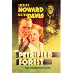 Art Print: The Petrified Forest - (#2) Vintage Movie Poster by Lantern Press: 24x16in found on Bargain Bro Philippines from Art.com for $35.00