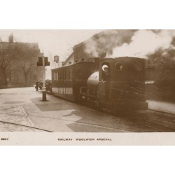 Photographic Print: Railway, Woolwich Arsenal: 24x16in