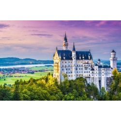Photographic Print: Neuschwanstein Castle in Germany. by SeanPavonePhoto: 24x16in