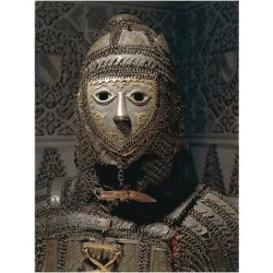 Giclee Print: Armor in Steel, Brass, Chain Mail and Leather from Sind, on Border Between India and Pakistan: 24x18in