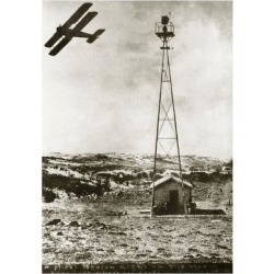 Giclee Print: World's Highest Beacon Light, 1920s Art Print by Miriam and Ira Wallach: 24x16in