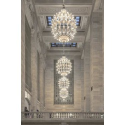 Photographic Print: Usa, New York, New York City, Grand Central Station by Michele Falzone: 24x16in
