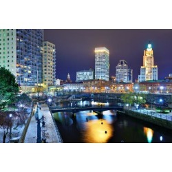 Photographic Print: Downtown Providence, Rhode Island, Usa. by SeanPavonePhoto: 24x16in