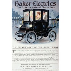 Giclee Print: Poster Advertising the Electric Baker Car, from 'The Theater', New York Londres, 1910: 24x16in