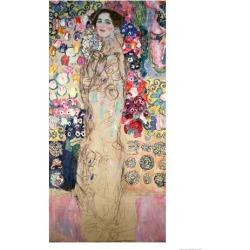Giclee Print: Portrait of Maria Munk Art Print by Gustav Klimt by Gustav Klimt: 16x12in found on Bargain Bro India from Art.com for $22.00