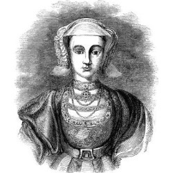 Giclee Print: Anne of Cleves, Fourth Wife of Henry VIII of England, 19th Century: 24x18in found on Bargain Bro India from Art.com for $25.00