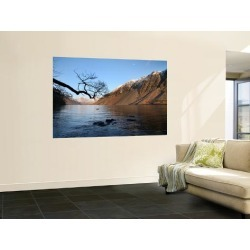 Wall Mural: Wast Water Below Scaffel Pike Wall Decal by Feargus Cooney: 72x48in