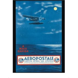 Premium Giclee Print: Europe, Africa, South America, Rio de Janeiro, Brazil - Aeropostale CGA by A.W.D. : 16x12in found on Bargain Bro India from Art.com for $30.00