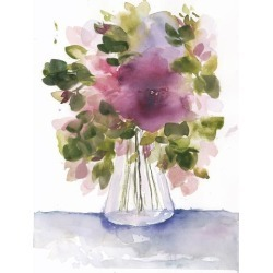 Giclee Print: Floral Compilation by Emilija Tumbova: 20x16in