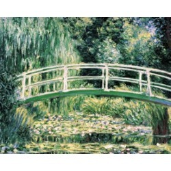Art Print: White Water Lilies by Claude Monet: 10x12in found on Bargain Bro from Art.com for USD $17.48
