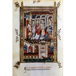 Giclee Print: St Denis Taken to Sisinnius, 1317: 24x16in found on Bargain Bro India from Art.com for $25.00