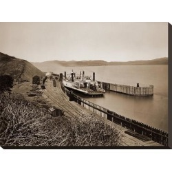 Stretched Canvas Print: The Ferryboat