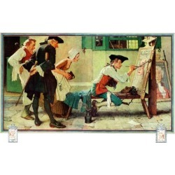 Giclee Print: Artisans & Tradesmen Art Print by Norman Rockwell by Norman Rockwell: 16x12in