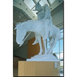 Stretched Canvas Print: Statue in the National Cowboy Hall of Fame, Oklahoma City, Oklahoma, USA: 54x36in found on Bargain Bro Philippines from Art.com for $236.00