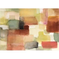Art Print: Woven Hills by Lanie Loreth: 12x9in