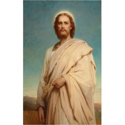 Giclee Print: Christ of the Cornfield, 1883 by Thomas Gainsborough: 24x16in found on Bargain Bro from Art.com for USD $19.00