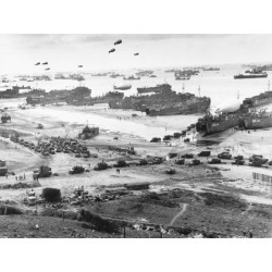 Photographic Print: Allied Forces at a Beach in Normandy: 24x18in found on Bargain Bro India from Art.com for $25.00