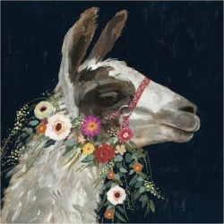 Art Print: Lovely Llama I by Victoria Borges: 12x12in found on Bargain Bro Philippines from Art.com for $15.00
