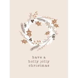 Stretched Canvas Print: Holiday Charm - Jolly by Dana Shek: 32x24in found on Bargain Bro India from Art.com for $210.00