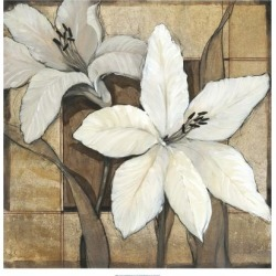 Art Print: Non-Embellished Lilies Art Print by Tim O'toole by Tim O'toole: 16x16in found on Bargain Bro Philippines from Art.com for $15.00