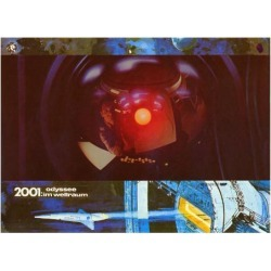Art Print: 2001: A Space Odyssey, German Movie Poster, 1968: 24x18in found on Bargain Bro Philippines from Art.com for $20.00