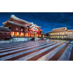Photographic Print: Shuri Castle in Okinawa, Japan. by SeanPavonePhoto: 24x16in