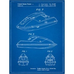 Art Print: Suzuki Wave Runner Patent by Cole Borders: 24x18in found on Bargain Bro India from Art.com for $20.00