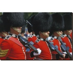 Stretched Canvas Print: Royal Guard, London, England, United Kingdom of Great Britain: 24x37in found on Bargain Bro Philippines from Art.com for $160.00