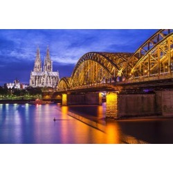 Photographic Print: Cologne Cathedral in Cologne, Germany. by SeanPavonePhoto: 24x16in