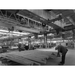 Photographic Print: Finished Steel in a Warehouse, Sheffield, South Yorkshire, 1963 by Michael Walters: 24x18in