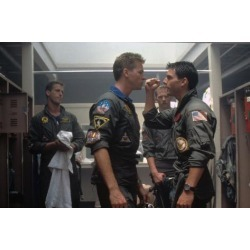 Photo: Top Gun by Tony Scott with Val Kilmer and Tom Cruise, 1986 (photo) : 36x24in