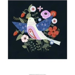 Art Print: Folk Garden II by Victoria Borges: 19x13in found on Bargain Bro Philippines from Art.com for $15.00