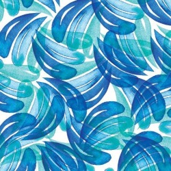 Giclee Print: Layered Blue Tear Drop by kristine lombardi: 12x12in found on Bargain Bro India from Art.com for $30.00