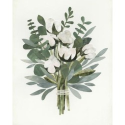 Art Print: Cut Paper Bouquet IV: 24x18in found on Bargain Bro Philippines from Art.com for $20.00